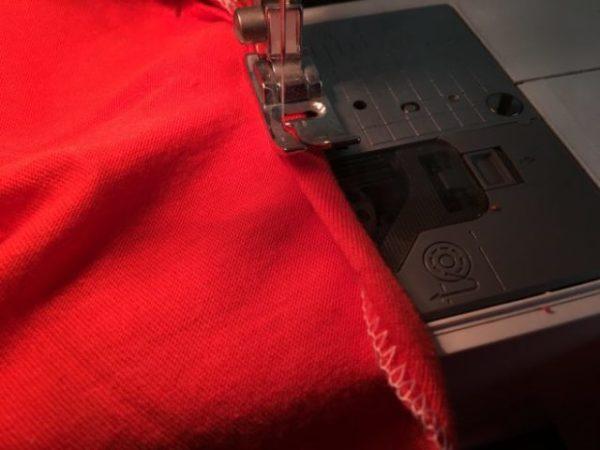 みつ巻き縫い