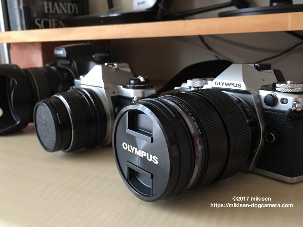 愛用一眼カメラ3台