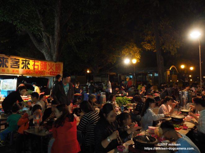 勞工夜市の鍋料理