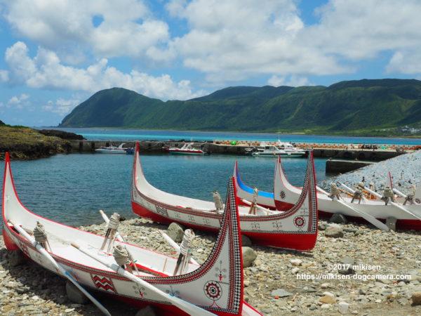 蘭嶼の木船