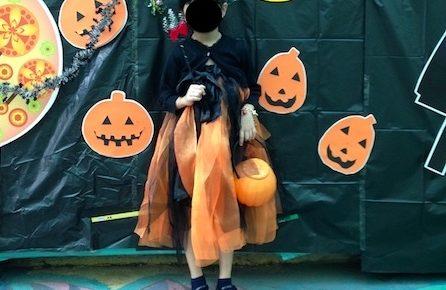 ハロウィン手作りドレス
