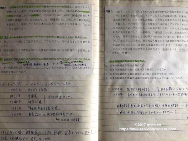日本語教育能力検定試験ノート
