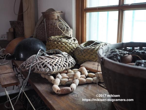 漁業の道具