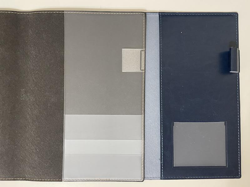 手帳のカバー